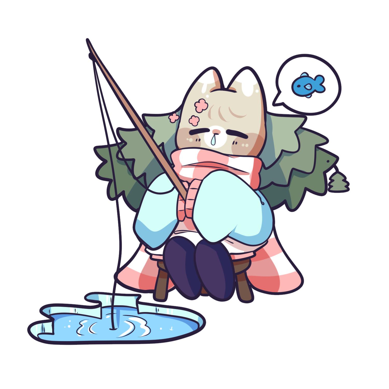Conifer fishing 1