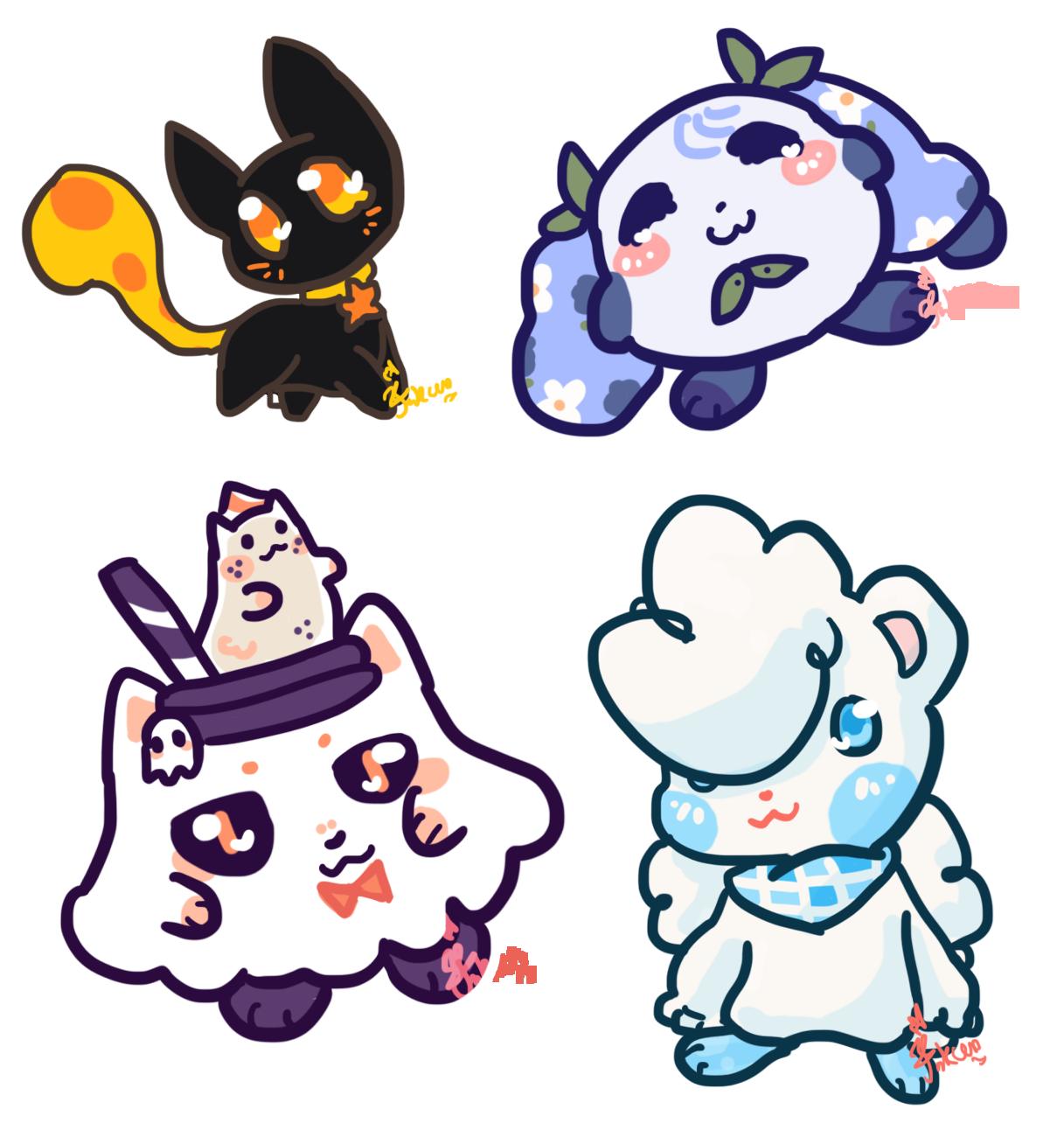 [Trade] Cute Quartet